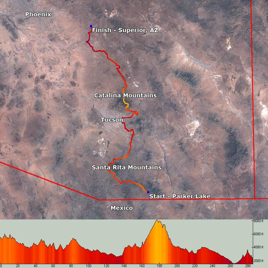 The Arizona Trail Race - 300 and 750 Mile Mountain Bike Races