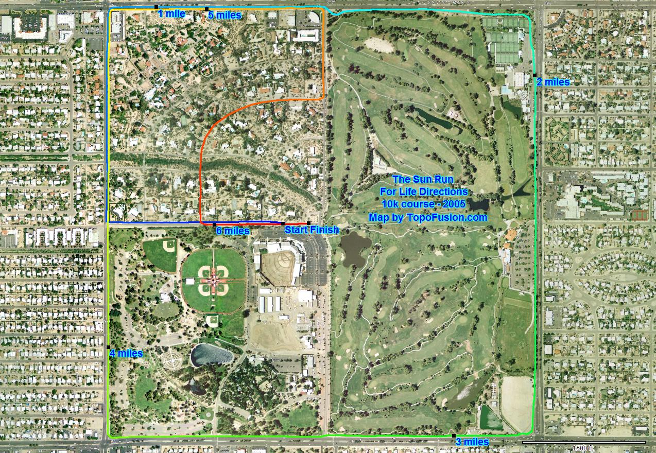 click here for k course map jpg. topofusioncom  event mapping