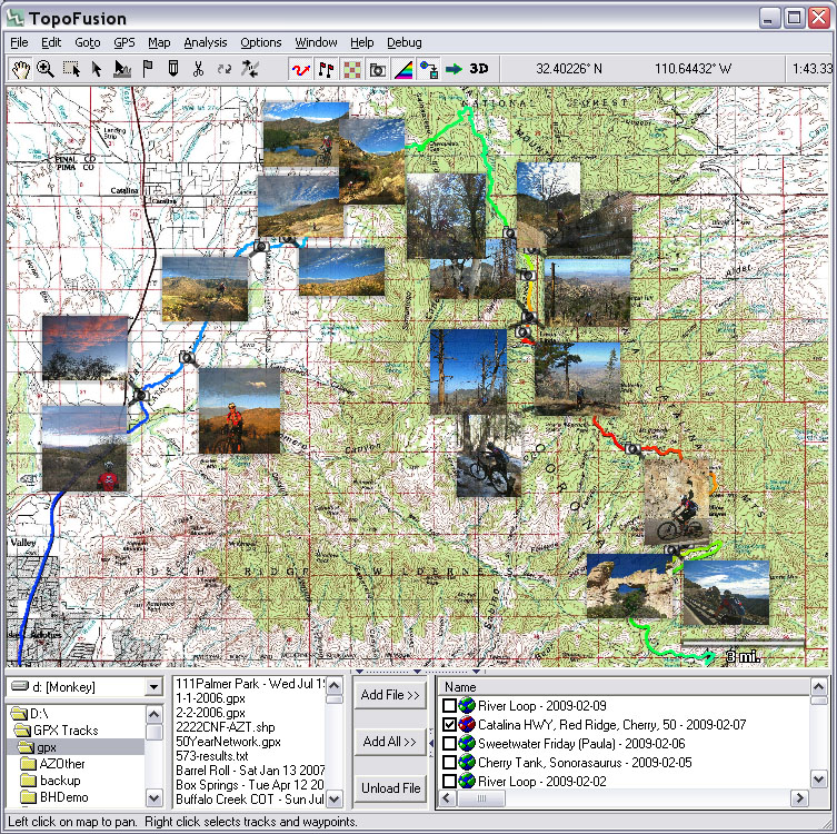 TopoFusioncom GPS Mapping Software For Windows - Free gps maps software download